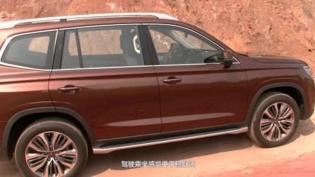 试驾荣威RX8 全领域大七座豪华SUV征服全地形