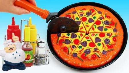 比萨饼做起来一点也不难! 创意DIY培养宝宝想象力激发创造力