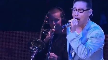 张学友演唱《天龙八部》的主题曲, 开口即是高音, 实力太强了!