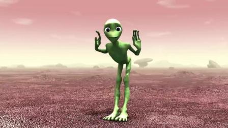 最近全球超火的小绿人舞蹈《Dame Tu Cosita》跳起来 超级魔性!