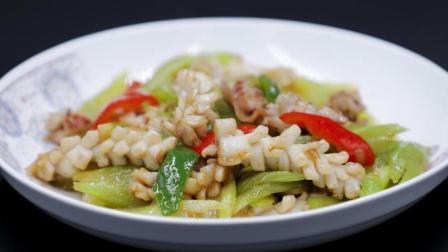 西芹花枝片, 80%的中国人没吃过这道菜, 营养价值极高!