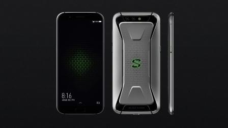 黑鲨游戏手机发布, 6GB骁龙845售价2999元