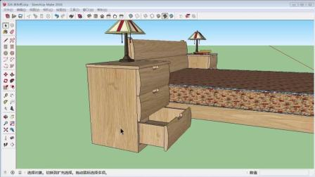 B13 做家具(床头柜)