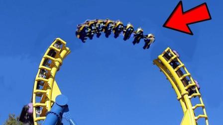 最疯狂的过山车, 第一视角垂直360*感受, 这才叫真正的过山车!