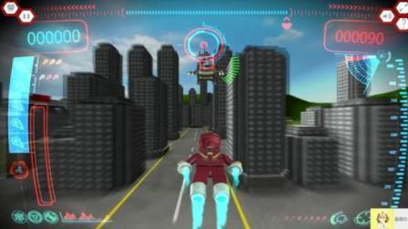 乐高城市系列 乐高城市动画片 乐高钢铁侠3