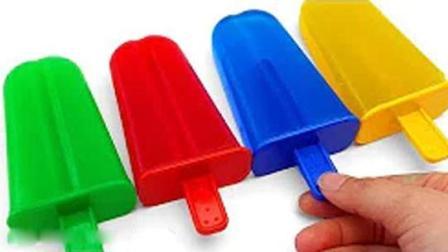 DIY如何使颜色软冰淇淋果冻 火影忍者博人传 小猪佩奇 DIV生日蛋糕 培乐多橡皮泥玩具