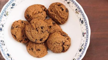 巧克力香草曲奇饼干, 失败率最低的烘培项目, 赶紧做起来吧
