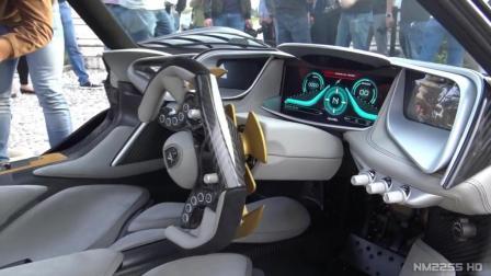 阿波罗IE超级跑车3V12的引擎声音就是不一样!