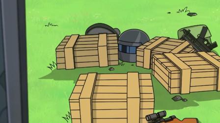 绝地求生:妹子在游戏里居然晕车,不拿武器只拿绷带?