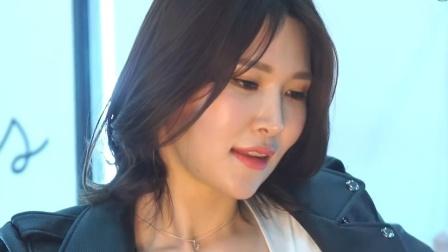 180412 2018 首尔摩托车展 韩国美女模特 车模 이아림(李到华)(2