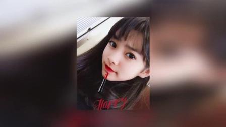 日本一哈韩小学女生涂红唇留空气刘海走红网友叹: 化妆后老10岁