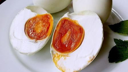自制咸鸭蛋, 农村大姐手把手教你腌制, 个个蛋黄流油!