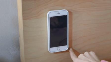 能贴在任何表面的手机壳, 随用随贴, 还不担心掉!