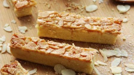 法式焦糖杏仁酥, 层层的香酥加上浓郁蛋黄味饼低, 吃得心都化了!