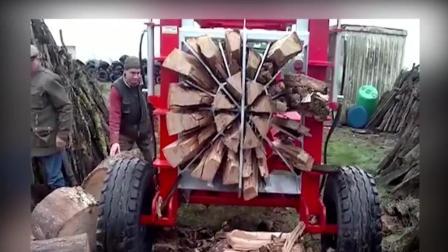 真棒发明机器新技术汇编, 自制木材切割机