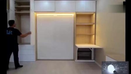 这么有创意的家具设计, 得省多少空间啊, 以后就这么装修  (预来顺)