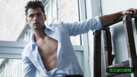 欧美顶级性感男模, 用完美身材演绎时尚肌肉大片