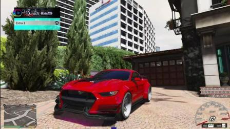 《GTA5》: 爆改后野马跑车动力到底有多恐怖?
