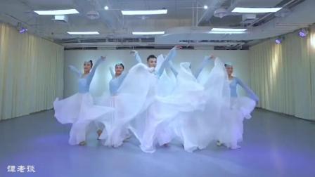 孙科古典舞《花又开》, 孙老师舞蹈就是好看, 这舞蹈裙子好美!