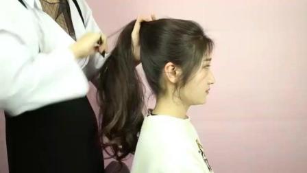 简单漂亮的头发, 懒人也可以扎出撩人感发型, 3分钟出门!