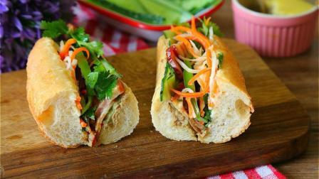 法式鸡肝酱和法棍组合在一起就是全球十大街头小吃之一的越南三明治
