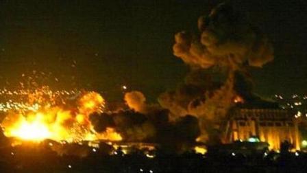 叙利亚军用机场凌晨遭多枚导弹袭击
