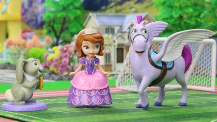 飞马是小公主苏菲亚的好朋友, 有一天他不见了, 苏菲亚和四叶草找到他了吗?