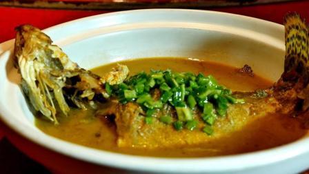 楚菜厨师长教你做土法煨鳜鱼, 传统农家菜做法, 原汁原味桂鱼汤!