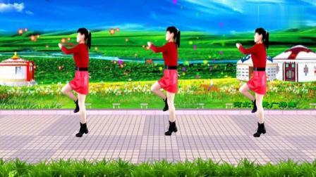 辽阔的草原, 骏马奔驰《一路歌唱》太棒了! 广场舞32步附口令分解