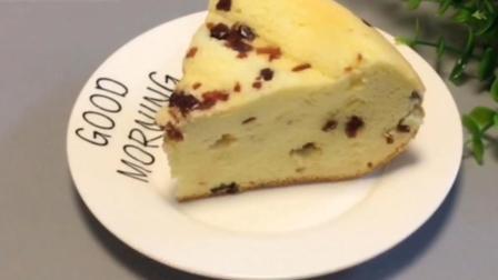 超级简单的蔓越莓海绵蛋糕, 来看看