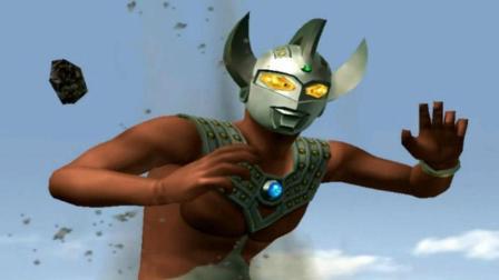 奥特曼格斗进化重生-341 冰封的怪兽酋长