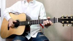 蔡宁弹唱李宗盛《给自己的歌》靠谱吉他 卡马G1吉他