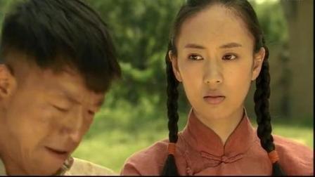 喜子和葛二蛋打赌打中南瓜就嫁给他, 结果居然打中了。