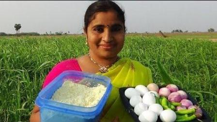 印度妈妈下厨, 10个鸭蛋做出了新高度, 出锅后我已毁三观了