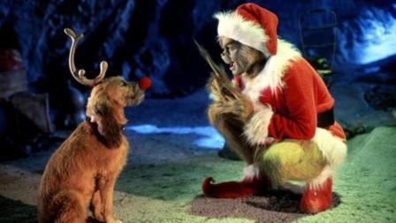 四分钟看完奇幻片《圣诞怪杰》, 好心夫妇收养怪物宝宝