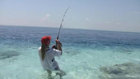 海水干净得不像话, 海钓的绝佳地方
