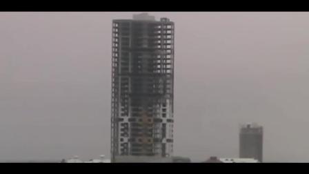 1分钟看完爆破现场, 高楼瞬间成平地, 不得不佩服技艺之高超