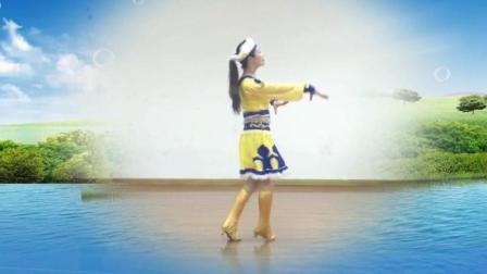 广场舞《心在云上飞》 这支蒙古舞 很美!