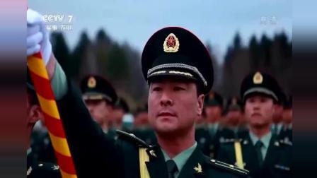 中国仪仗队在莫斯科一出场, 看台观众全体起立, 真壮观
