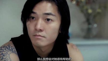 陈浩南不光长的帅, 而且这气场真是爆表了, 这么狂的乌鸦都斗不过他!