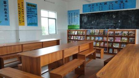 新民小学援建图书室活动