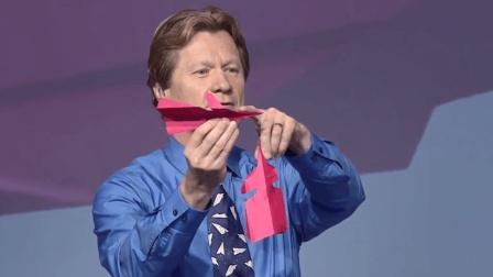 这样叠成的纸飞机, 能飞68米远!