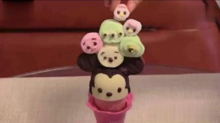 用德芙巧克力来做冰淇淋, 老板说这样能卖30元