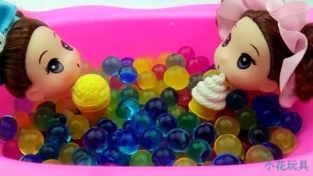 美人鱼水舞珠珠冰激凌碗玩具 这里一定有你喜欢的冰激凌!