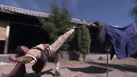 段延庆以为可以将乔峰碎尸万段, 结果被乔峰一掌给吓跑了