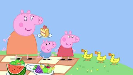 小猪佩奇: 猪爸爸想吃蛋糕, 被小蜜蜂追着跑