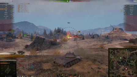 坦克世界外服大神视频集锦之 Ru 251