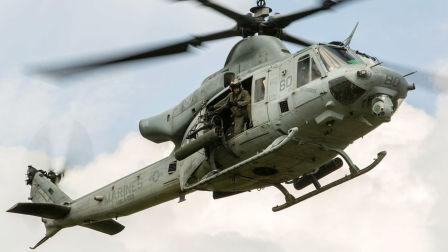 美国海军陆战队UH-1Y超级休伊直升机•来自天空的毒液