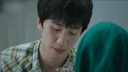 李光洙与女孩被困电梯, 原来除了搞笑, 光洙也可以温暖!
