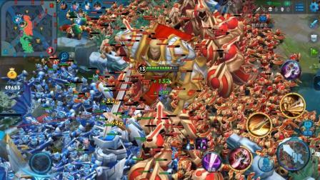 王者荣耀: 1600个兵进攻, 防御塔如虚设, 永远不知敌方在干嘛